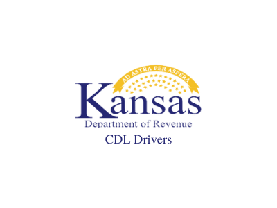 Kansas department of revenue CDL drivers