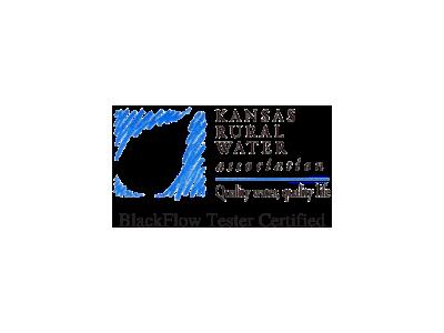 Kansas rural water association backflow tester certified