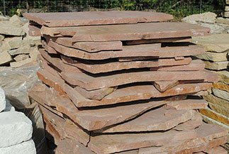 Rocky Mountain Rose Flagstone Supplier in Lawrence, KS