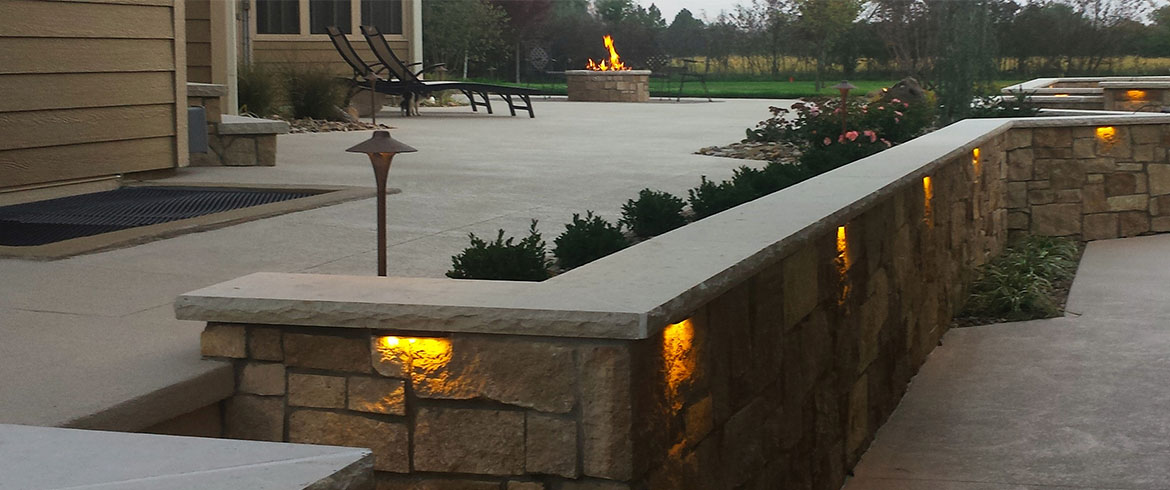 Landscape Walkway Lighting In Lawrence Ks Outdoor