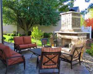 Outdoor Patio Design in Lawrence